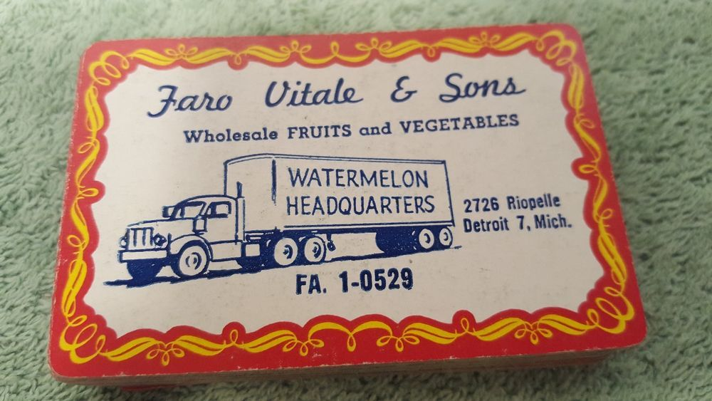 Faro vitale sons fruits and vegetables detroit mich