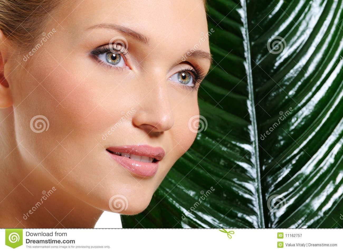 Woman with Healthy Skin healthy skin Moisturizing face cream