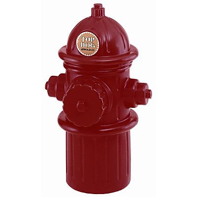 Fire Hydrant Storage Bin. Great party decoaration that will store dog toys after the party.