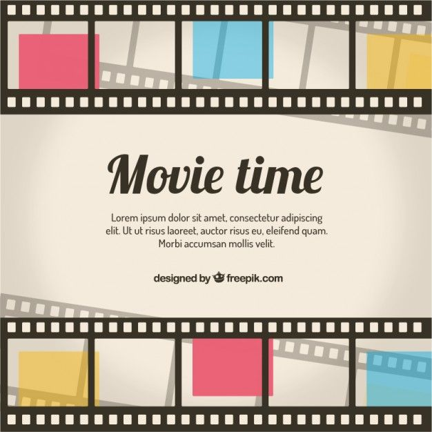 101 u2013 Movie Time Free File Gallery Pinterest - movie ticket template for word