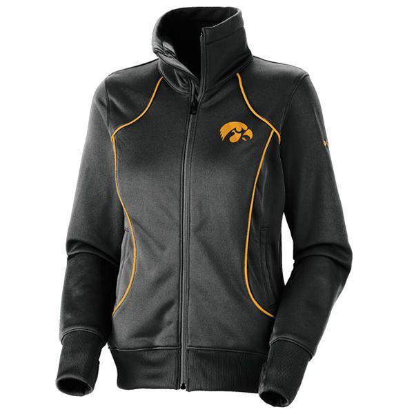 Iowa Wmns Final Turn Track Jacket :: Jackets :: Apparel :: Herky\'s ...