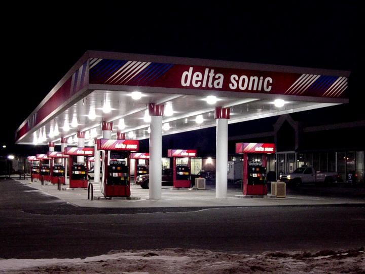 Delta sonic car wash and gas oil change inspection