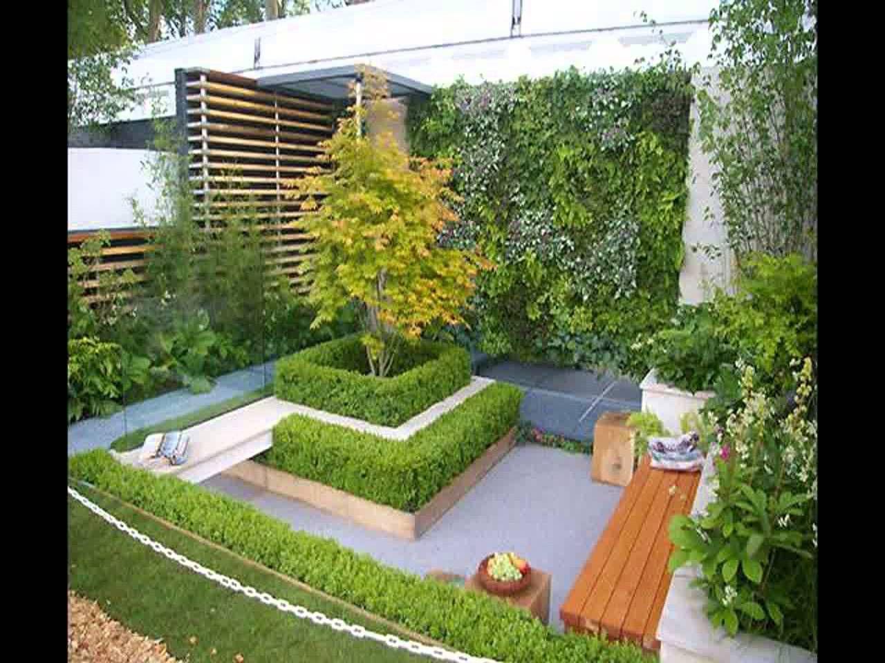Erfreulich Klein Gartengestaltung Ideen Bilder   Hinterhof Kann Für Die  Einfache Freude, Zum Spass Oder