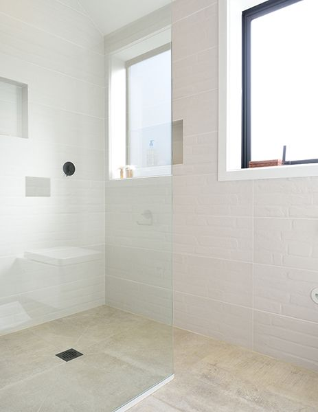 Ensuite Bathroom Nz niki & tiff ensuite from the block nz featuring project light grey