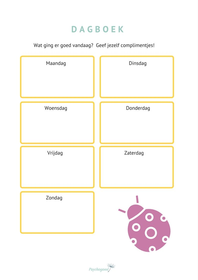 Super Werkblad voor onzekere kinderen om meer zelfvertrouwen te krijgen #YV11