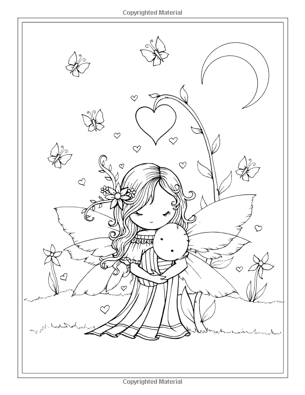Whimsical World Coloring Book Fairies Mermaids Witches And More