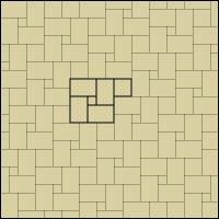Pattern 3 F 18x18 45 12x18 30 12x12 20 6x6 5 Mosaic Patterns Tile Layout Tile Remodel