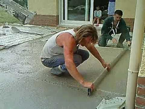 YouTube TERRASSE EN BÉTON ARMÉE Pinterest Terrasse en beton - Couler Une Terrasse En Beton