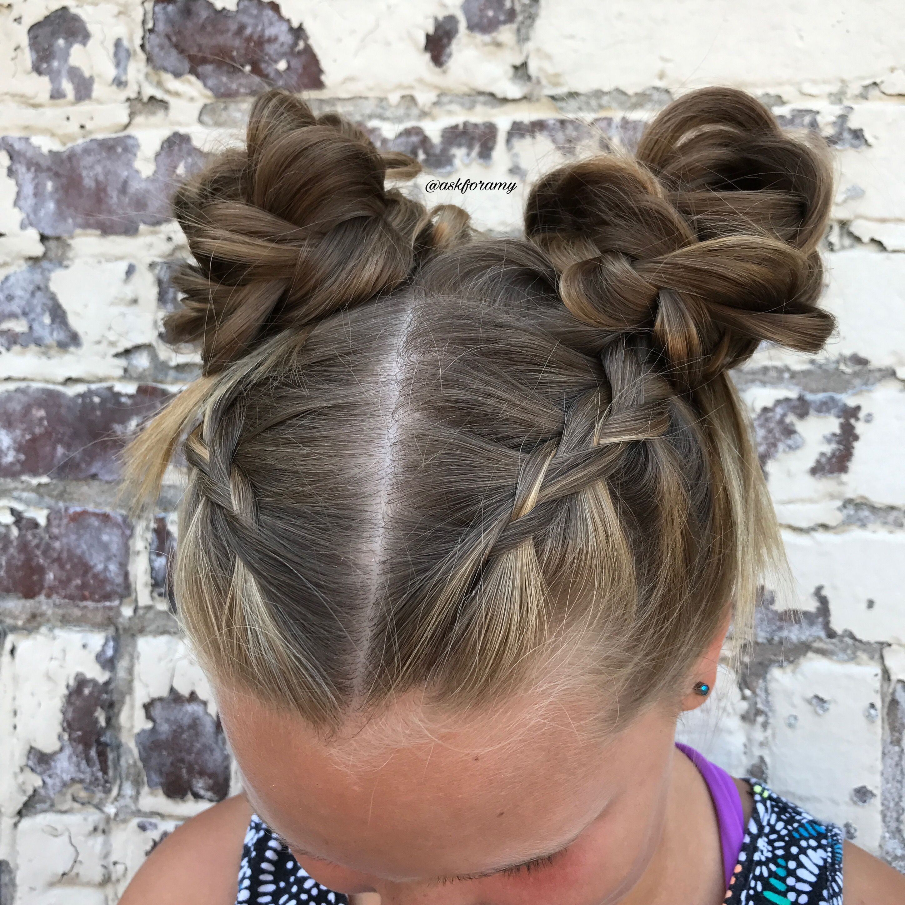 Pyt Giveaway Closed Space Buns For Short Hair Short Hair Bun Hair Tutorial Short Hair Styles
