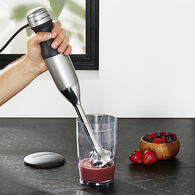 Kitchenaid Contour Silver 2 Speed Hand Blender Hand Blender
