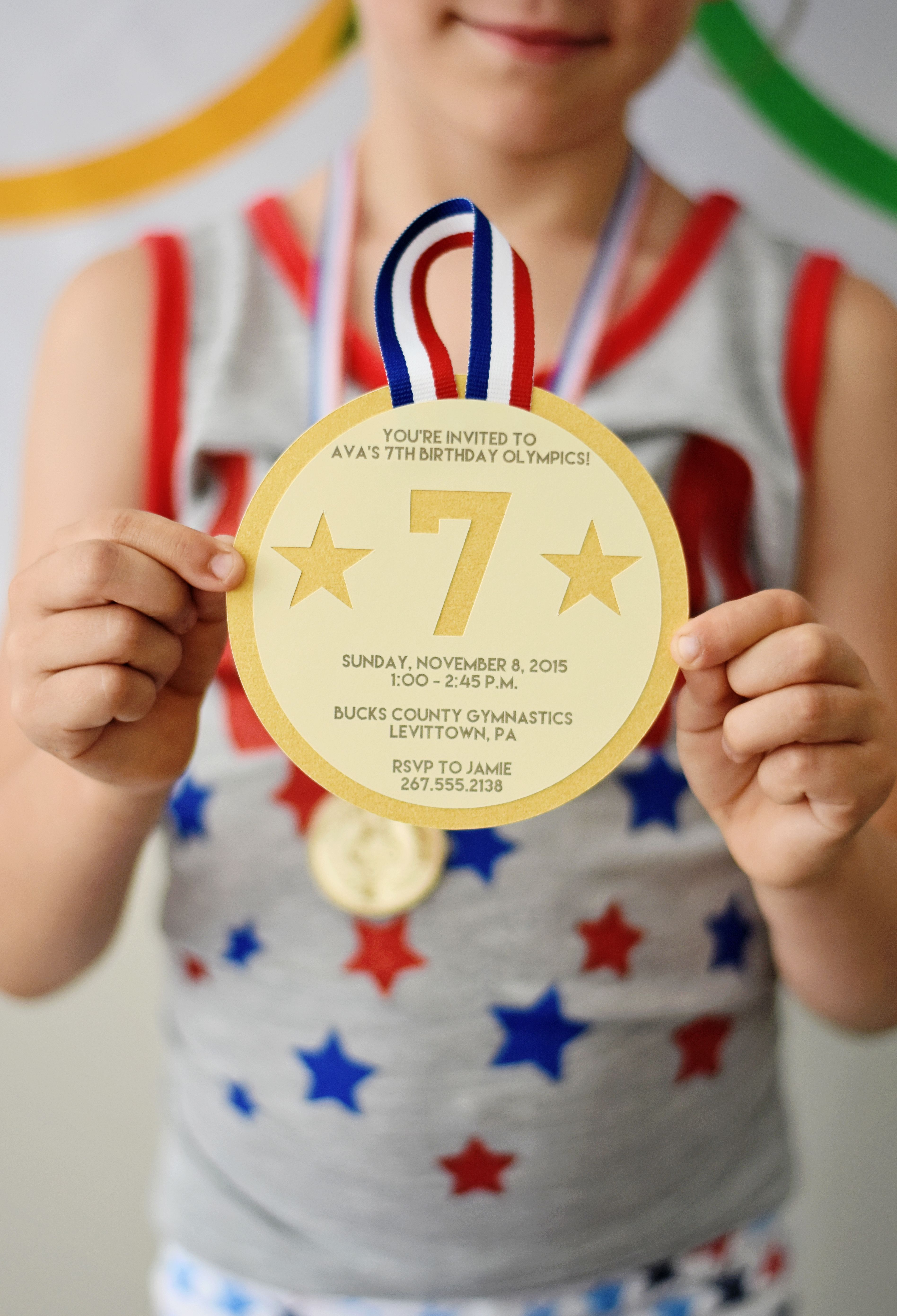 Go For The Gold With An Olympics Themed Kids Party