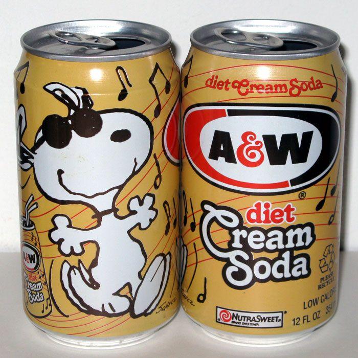 A W Root Beer Shop Collectpeanuts Com A W Root Beer Root Beer Cream Soda