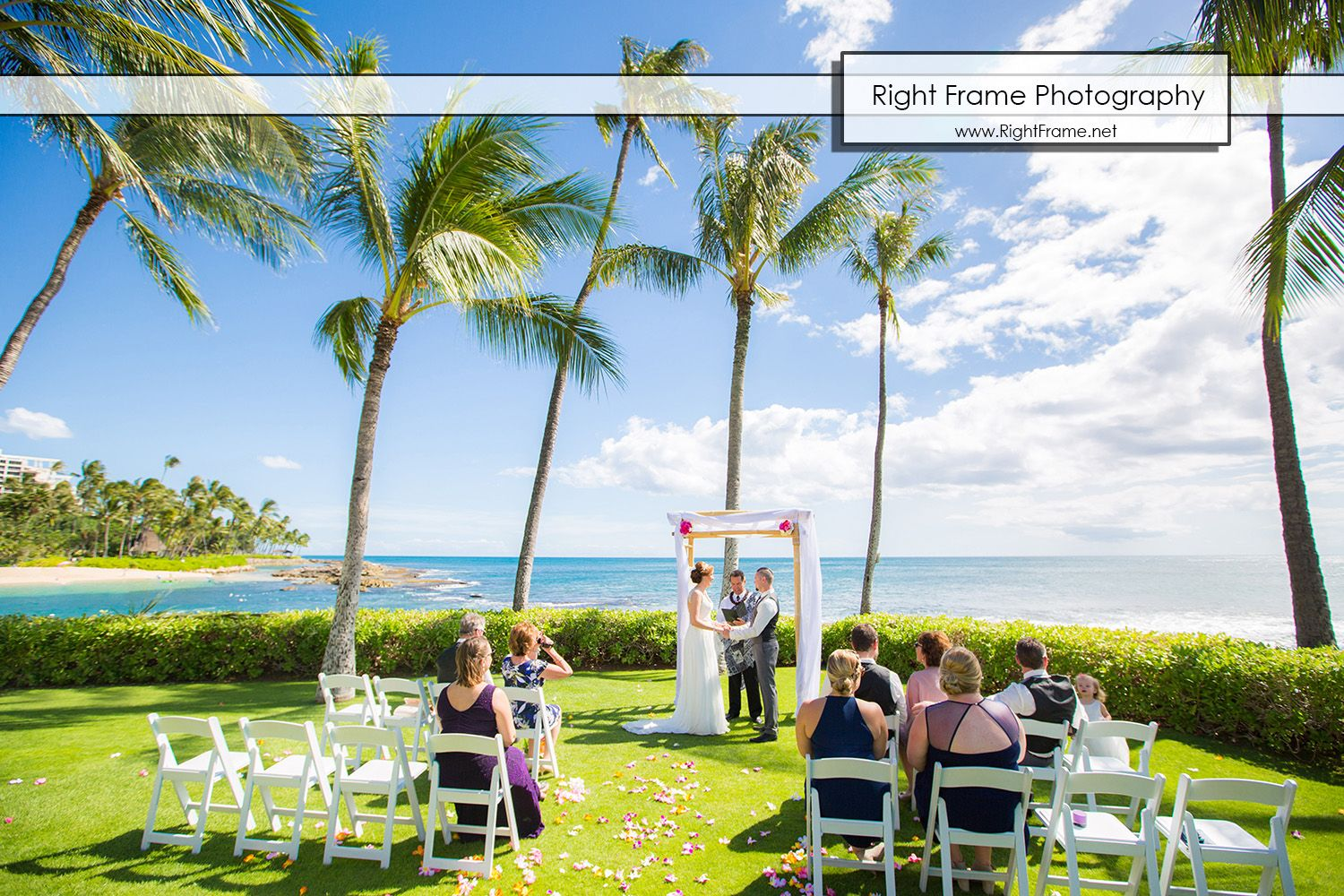 Hawaii Weddings At Paradise Cove The Point Ko Olina Oahu Pictures Picture Photo Photos Photographer Photography Idea Ideas Bride Destination