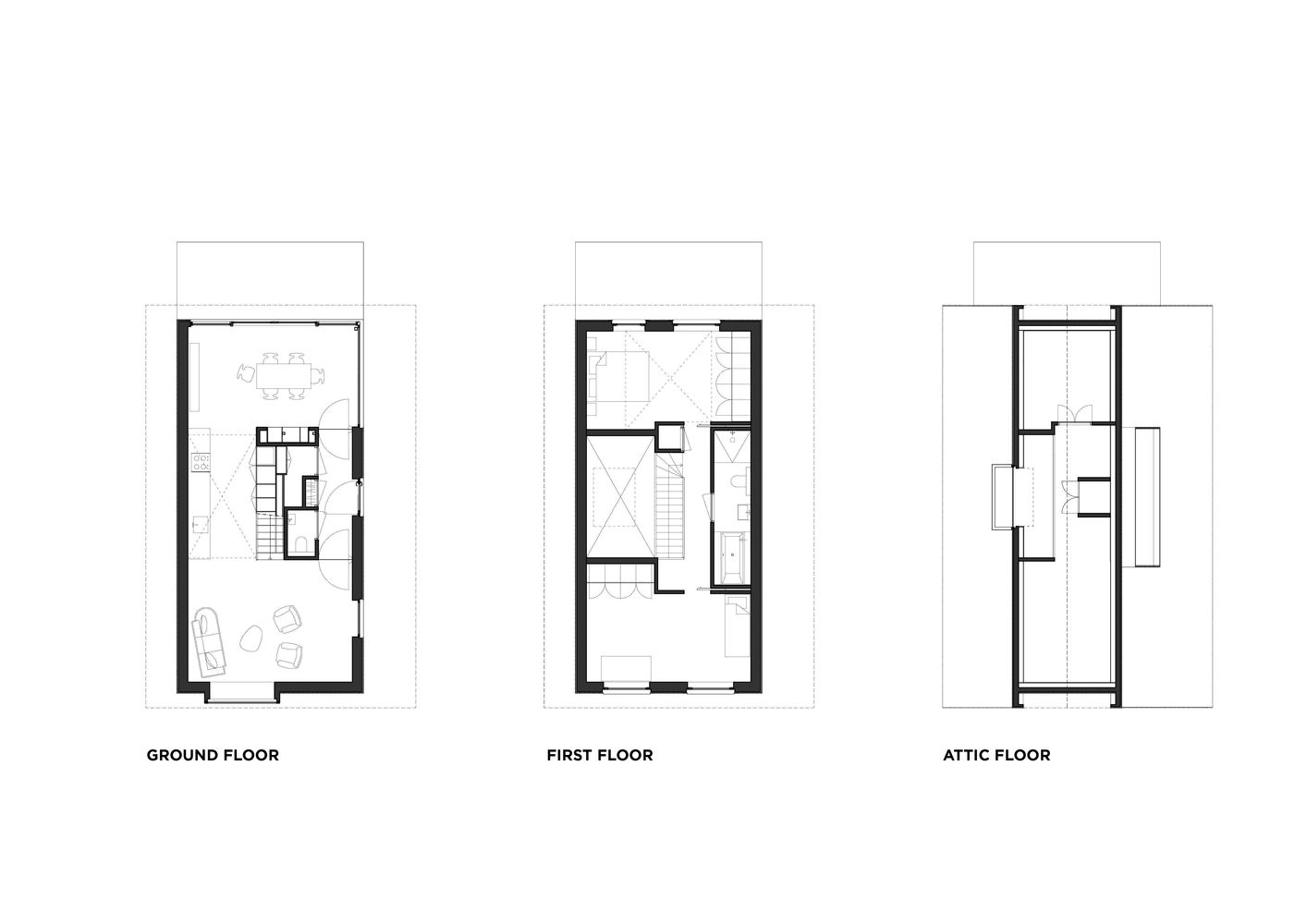 House Mm Chris Collaris Architects Simple Floor Plans Amsterdam Houses Wooden Cottage
