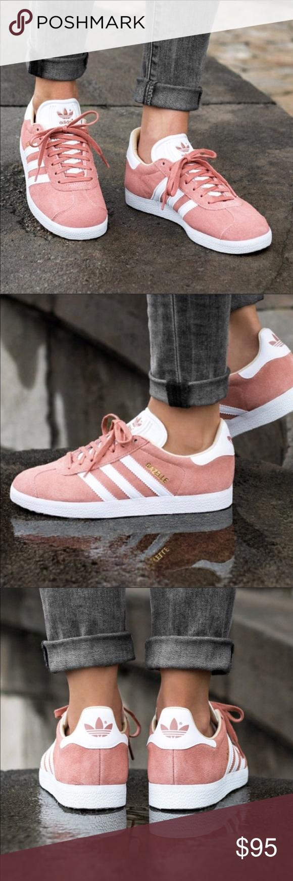New adidas gazelle ash pink suede 6.5