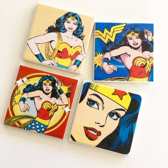 Set Of 4 Individually Handcrafted Tile Coasters Each Coaster Is Individually Handcrafted Using High Qualit Ceramic Tile Coaster Handcrafted Tile Tile Coasters