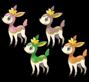 Image result for Deerling FOrms