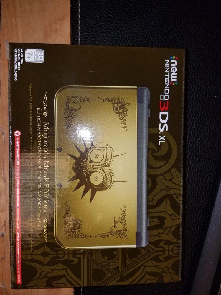 Nintendo New 3ds Xl Legend Of Zelda Majora S Mask Limited Edition
