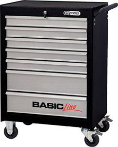 Ks Tools 838 0007 Basicline Servante D Atelier Noir Argent Atelier Noir Atelier Et Rangement
