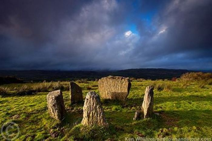 Kealkil Stone Circle, Co. Cork. A complex featuring a small five stone circle…
