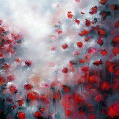"""Saatchi Online Artist Alison Johnson; Painting, """"Velvet Kisses"""" #art"""