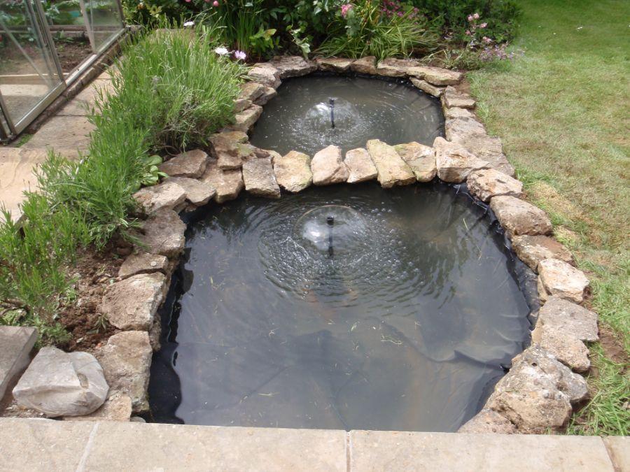 Building a Trout Farm | Home » Backyard Trout Pond ...