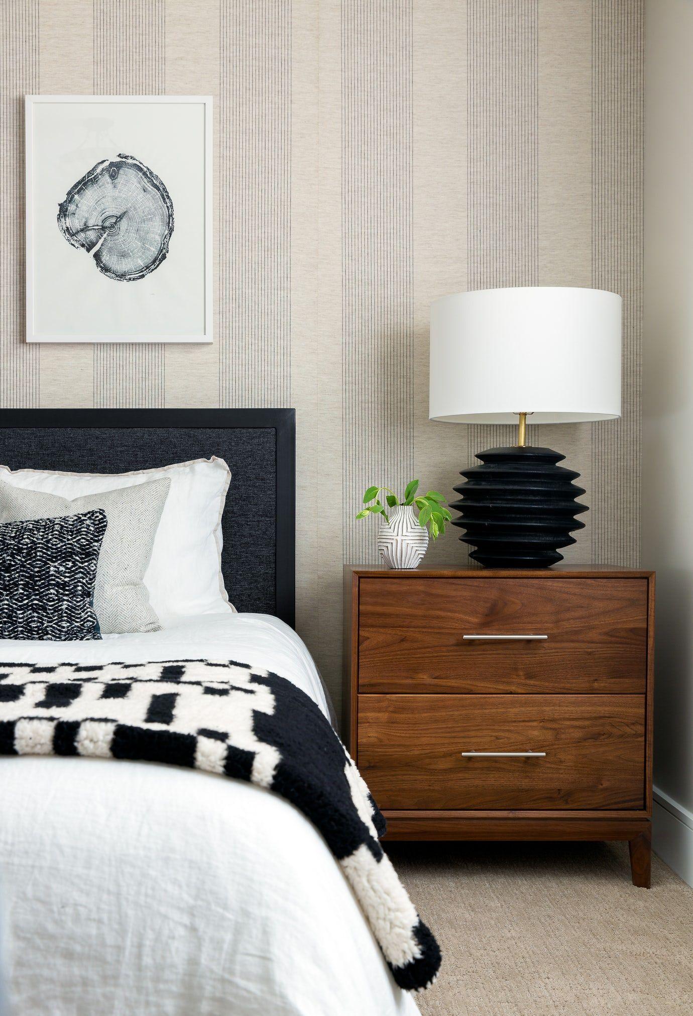 Best Modern Farmhouse Bedroom Bedroom Vignette Design Detail 400 x 300