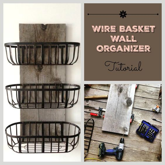 Wire Kitchen Wall Decor : Easy diy hanging wall organizers to keep your room
