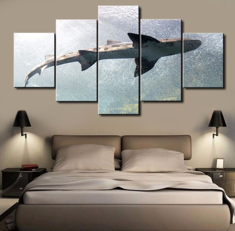5 Pieces Canvas Painting Office Home Decoration For Living Room ...