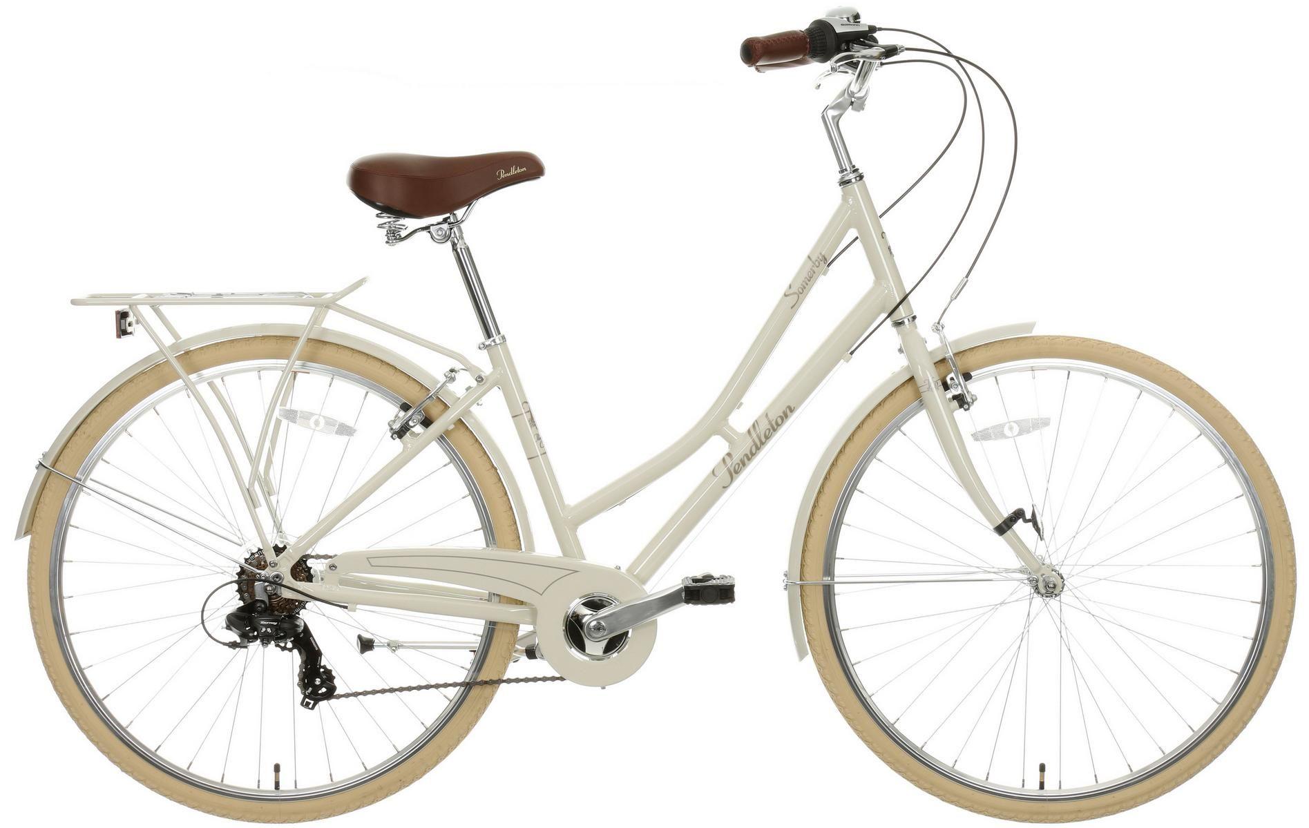 Pendleton Somerby Hybrid Bike Bone Hybrid Bike Classic Bikes