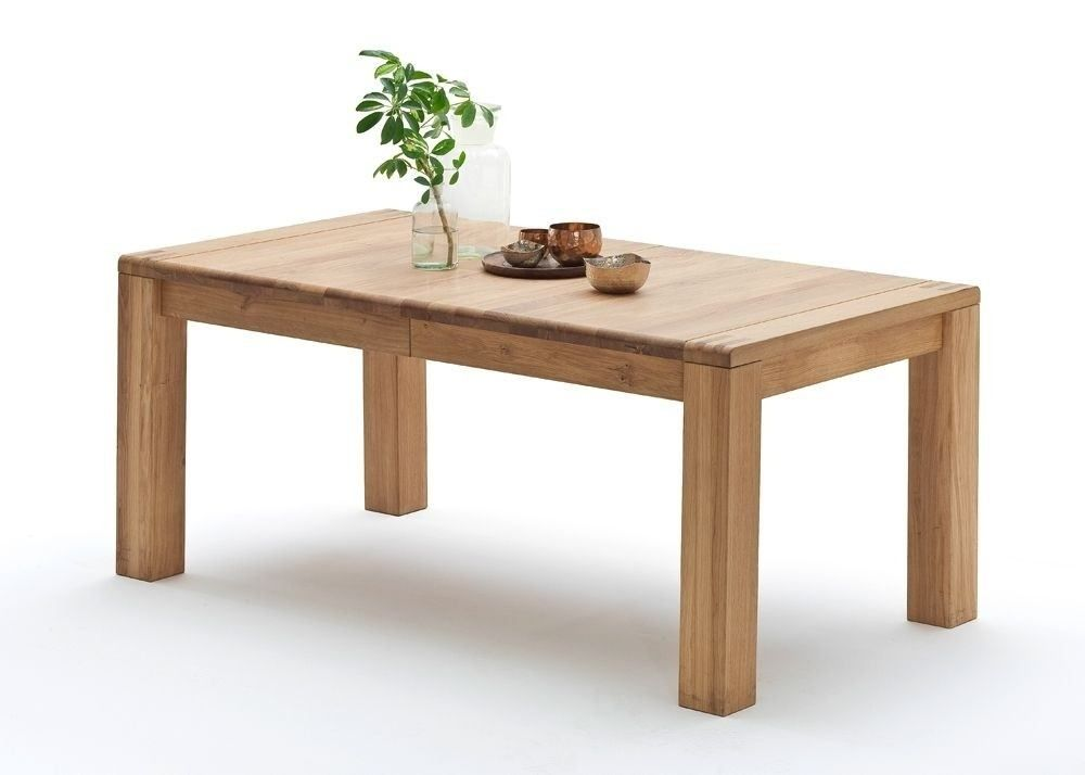 Esstisch Eiche Massiv Holz Anton Esszimmertisch Ausziehbar 9116