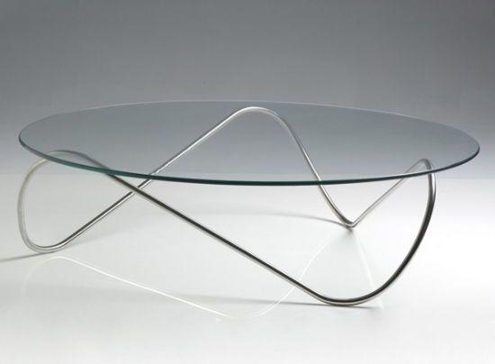Mesa de acero inoxidable y vidrio templado inox en 2019 - Mesas de vidrio templado ...