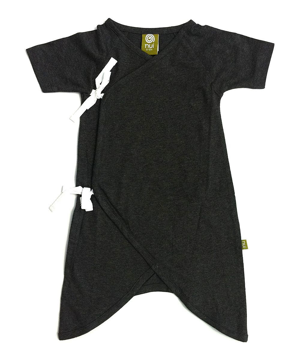 0be28661a Charcoal Hadagi Organic Gown - Infant
