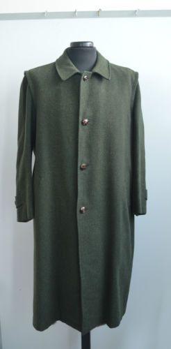 Cappotto verde Loden taglia 50