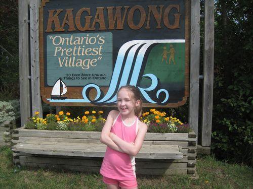Emma - Kagawong sign