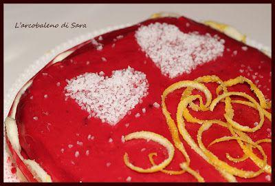 Limone e ciliegia di l 39 arcobaleno di sara aria di festa - La cucina di sara torte ...