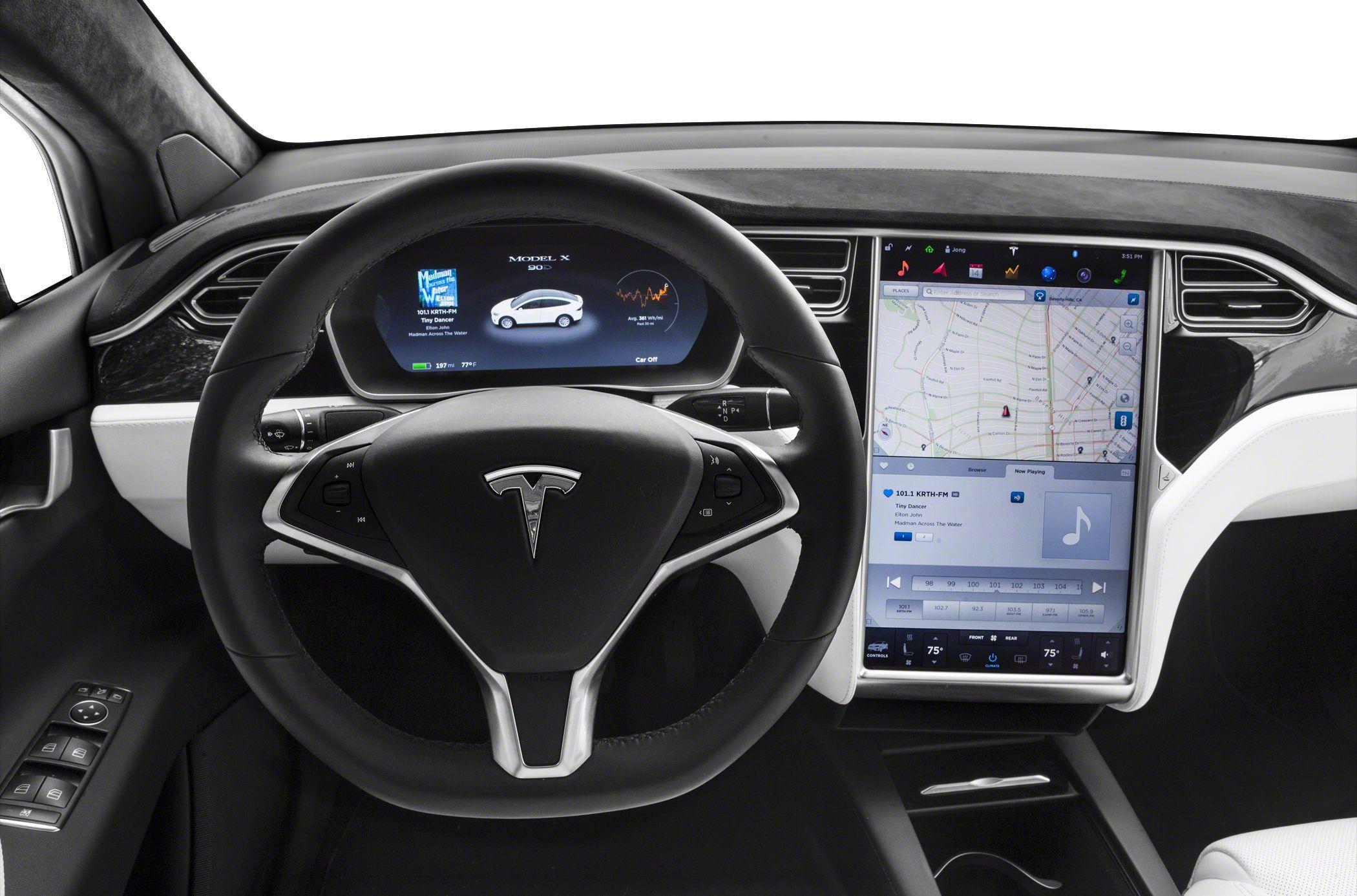 100d 4dr Sport Utility 2018 Tesla Model X Safety Features Tesla Model X Tesla Bmw Suv
