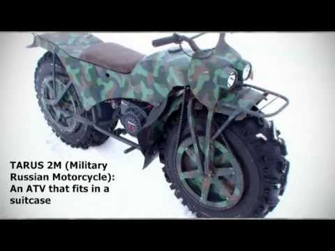 taurus 2m atv that fits in a suitcase russian military motorcycle
