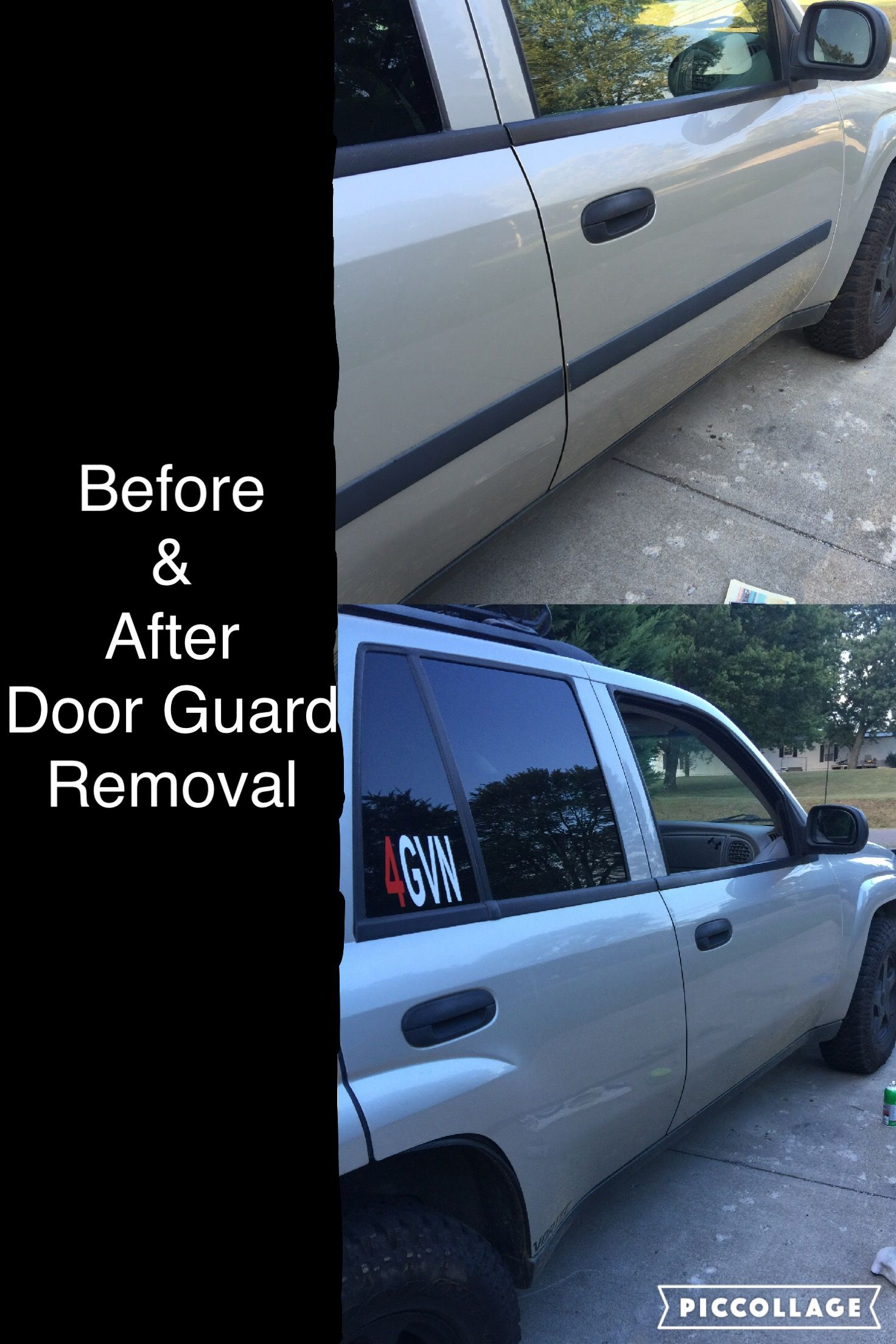 How to remove molding from a truck - Door Molding Removal On My