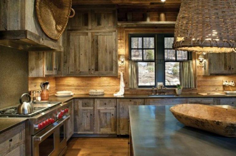 diseño de cocina de estilo rústico | Iceland | Pinterest | Cocinas ...