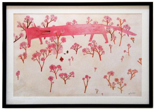 Eunsil Chun - She has so many amazing watercolors but so few prints for sale.  Thankfully this is one of them.