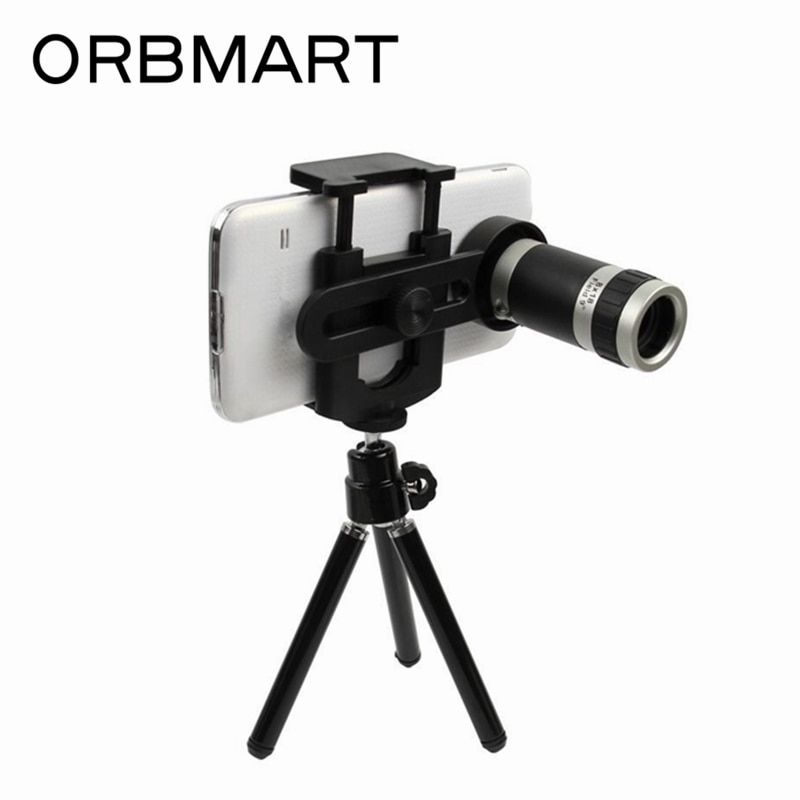 ORBMART 8X Optical Zoom Telescope Camera Lens With Mini