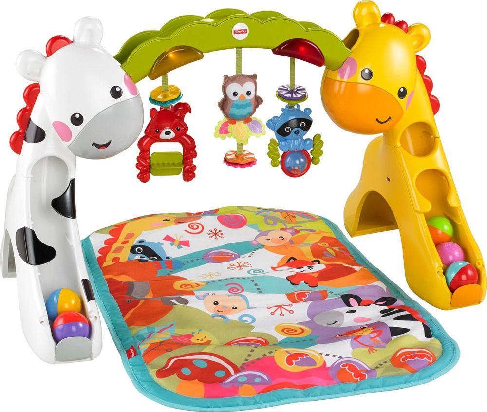 758b29fec576a5 Fisher-Price 3-in-1 Erlebnisdecke » Krabbeldecke mit Spielbogen - Jetzt  online kaufen