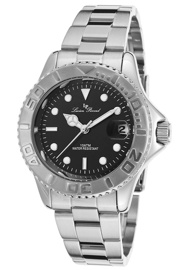 Women's Walen Stainless Steel Black Dial