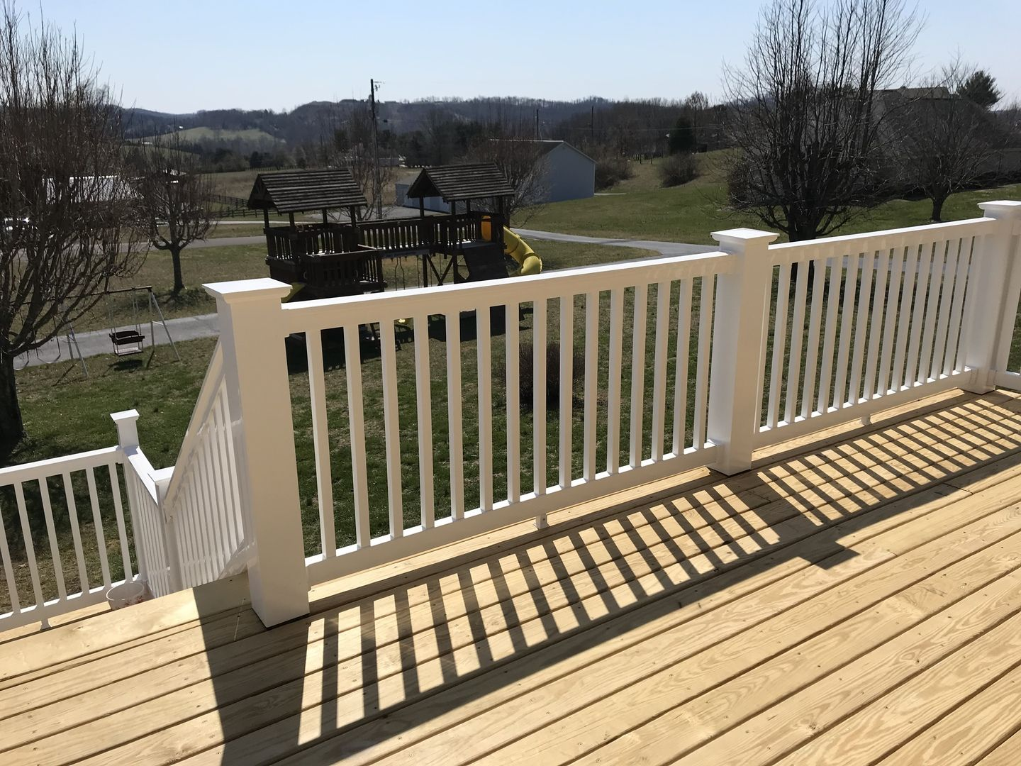 Best Durables Offers The Harrington Premium Vinyl Railing System For A Classy And Safe Statement On 640 x 480