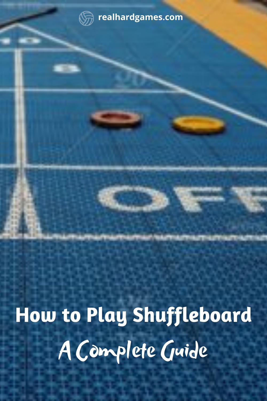 How To Play Shuffleboard A Complete Guide Shuffleboard