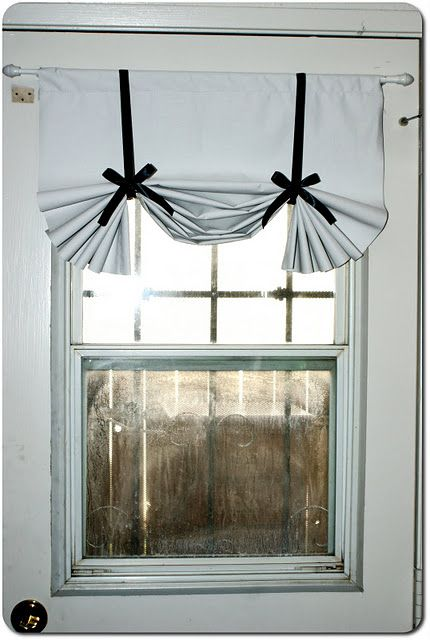 Cheapest Ever Kinda Sorta Roman Shade Curtains New Home Designs Decor
