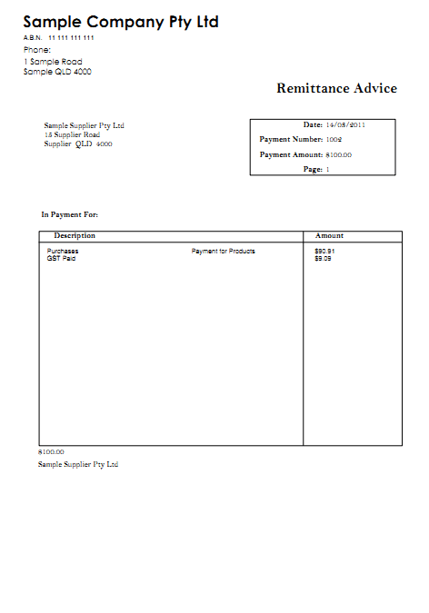 10 Remittance Templates Word Excel Pdf