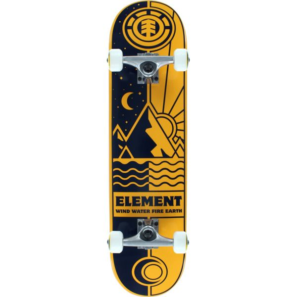 New Element Skateboards Nyjah Huston Rise And Shine Complete Skateboard 7 75 X 32 Now In Stock Element Skateboards Skateboard Skateboards