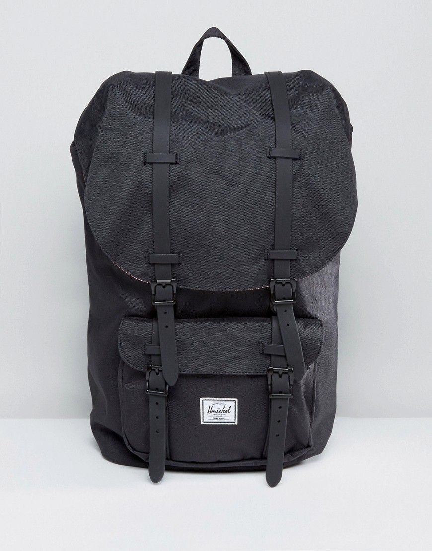 2985355011 Herschel Supply Co Little America backpack in black 25l | рюкзаки ...